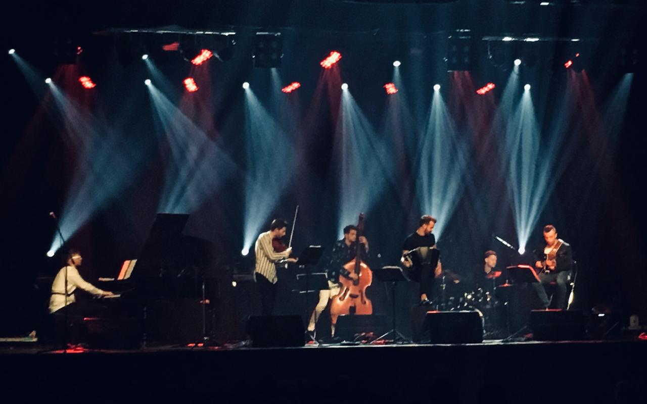 Zdjęcie z koncertu Bandonegro w Klubie Stodoła